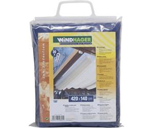 windhager seilspann markise 420 x 140 cm dunkelblau ab 55 99 preisvergleich bei. Black Bedroom Furniture Sets. Home Design Ideas