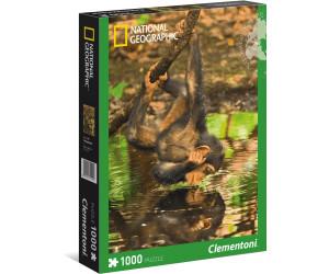 Clementoni Chimpanzee Infant - 1000 pcs - National Geographic