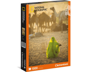Clementoni Indian Woman - 1000 pcs - National Geographic