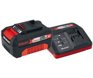 Einhell 18V 2,5Ah PXC Starter Kit, Ladegerät schwarz