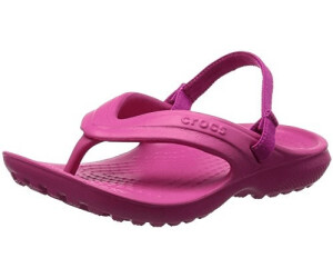 23//24 EU C7 UK Blau Navy Crocs Unisex-Kinder Classic Flip Kids Zehentrenner