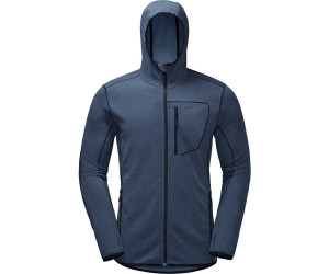 Jack Wolfskin Hydropore Hooded Jacket Men ocean wave ab 89