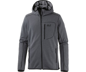 Jack Wolfskin Hydropore Hooded Jacket Men dark iron ab 79,99