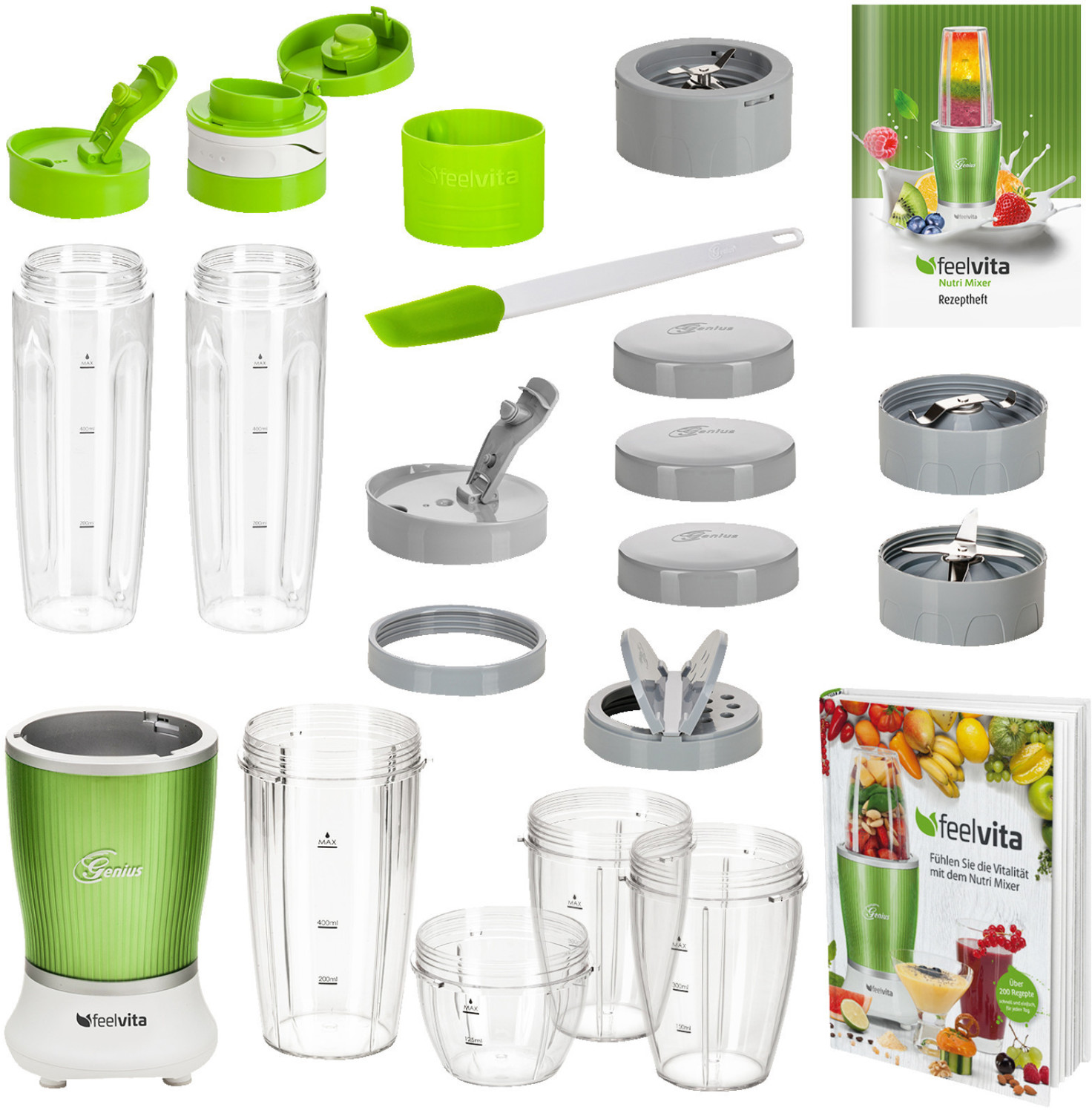 #feelvita Nutri Mixer 22 tlg. 31037#
