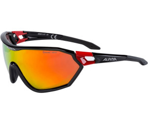 Alpina S-WAY CM+ - black red/red JPi9GNi