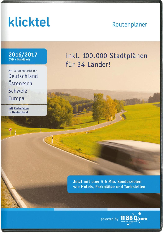 KlickTel Routenplaner 2016/2017