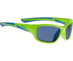 Alpina Kinder Flexxy Youth Sonnenbrille, White Matt-Red, One Size