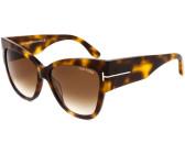Tom Ford Damen Sonnenbrille »Anoushka FT0371«, grau, 20B - grau/grau