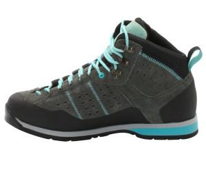 Vaude Dibona Advanced Mid STX Grau, Damen Hiking- & Approach-Schuh, Größe EU 39.5 - Farbe Dark Steel %SALE 35% Damen Hiking- & Approach-Schuh, Dark Steel, Größe 39.5 - Grau
