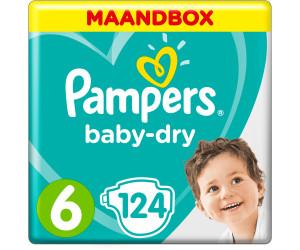 Pampers baby dry t6 15 kg 124 couches au meilleur prix sur - Comparateur de prix couches pampers ...