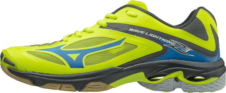 Mizuno Wave Lightning Z3 safety yellow/white/dark shadow