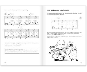 Voggenreiter Peter Bursch's Zupftechniken für Gitarre