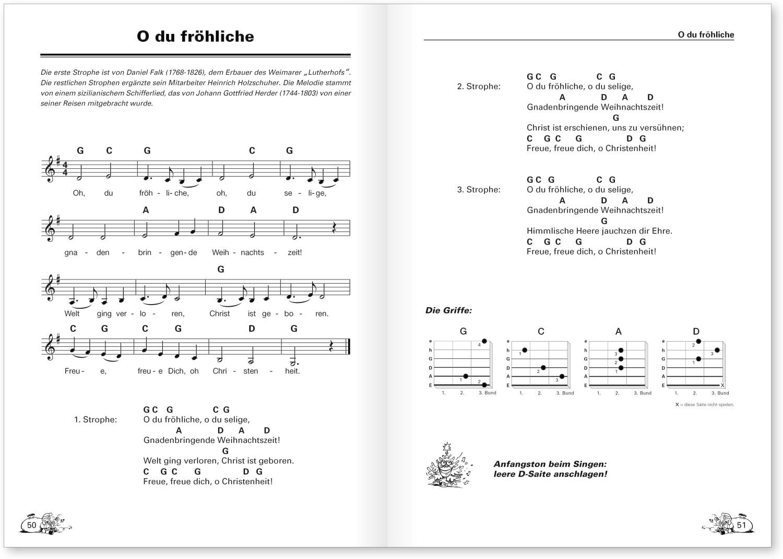 Voggenreiter Peter Bursch's Weihnachts-Liederbuch