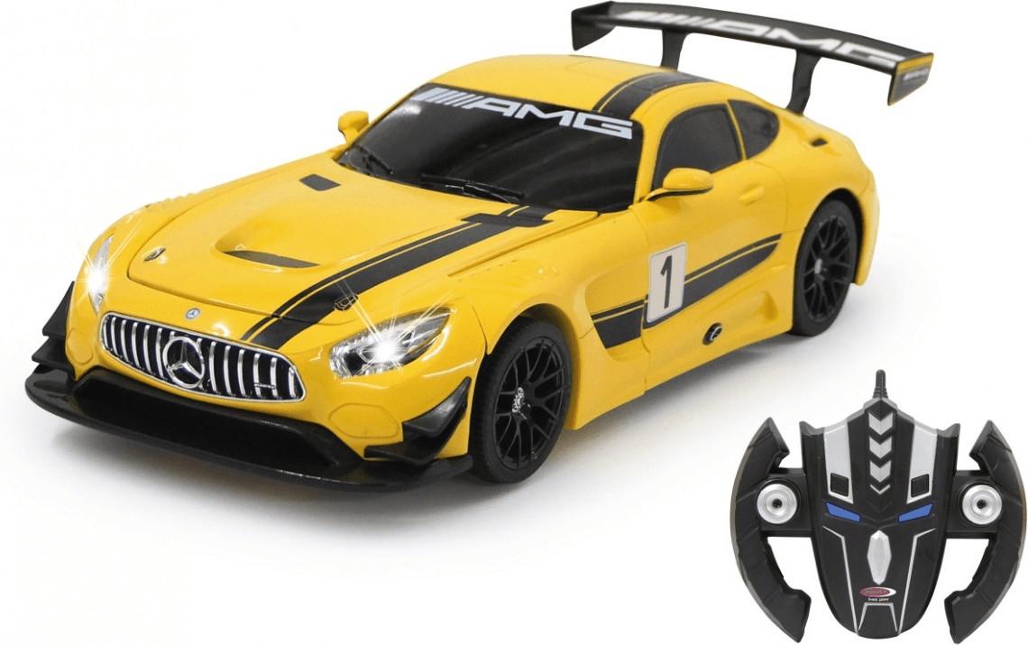 Jamara Mercedes AM GT3 1:14 transformable, gelb (410029)