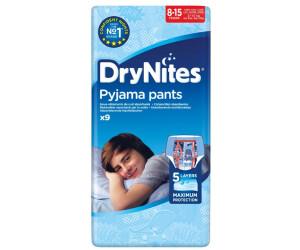 Huggies DryNites hochabsorbierende Pyjamahosen Unterhosen f/ür Jungs 8-15 Jahre 9 St/ück