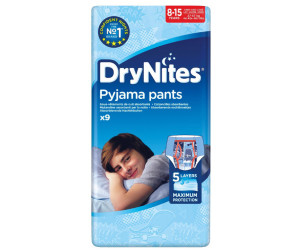 Huggies 8-15 Ans Drynites Pour Les Filles 9 Par Paquet Paquet de 2