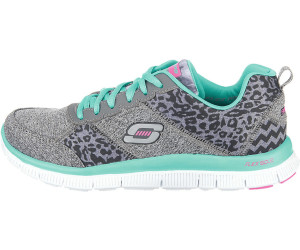 Ladies Skechers Flex Appeal New Image Workout Low Top Running Trainers All Sizes