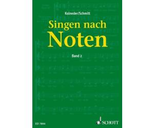 Schott Singen nach Noten Band 2