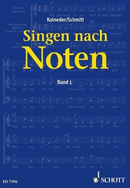 #Schott Music Singen nach Noten Band 1#