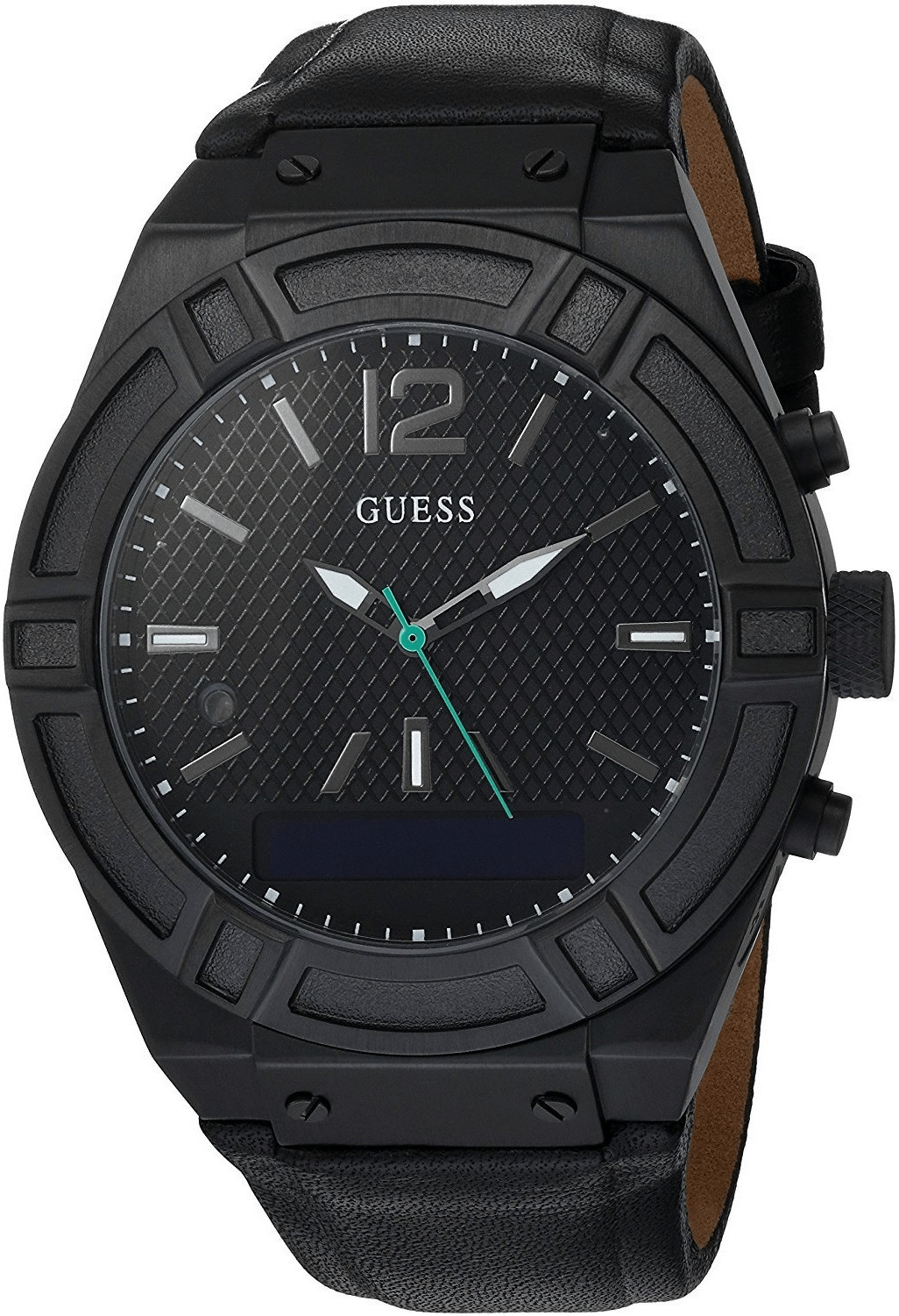 Image of Guess Connect 45mm black (C0001G5)