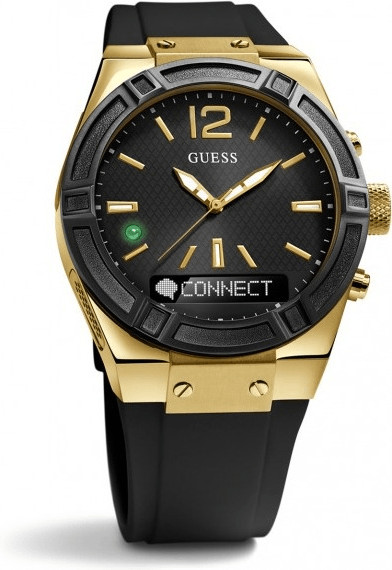 Image of Guess Connect 41mm black & gold (C0002M3)