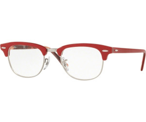 abb96fe93b Ray-Ban Clubmaster RX5154 5651 (red on texture camouflage) desde 142 ...