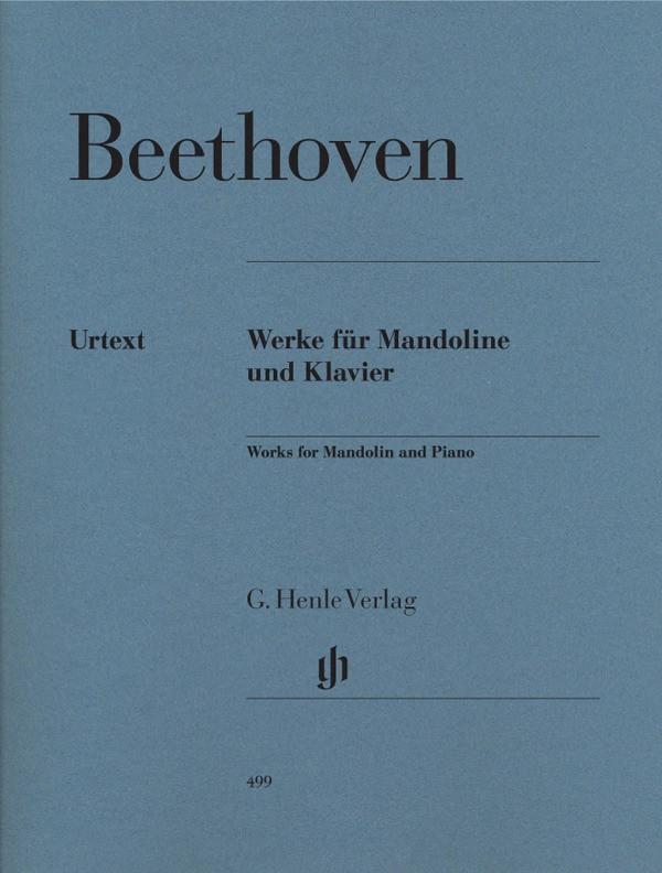 Henle Verlag Ludwig van Beethoven - Werke für Mandoline und Klavier