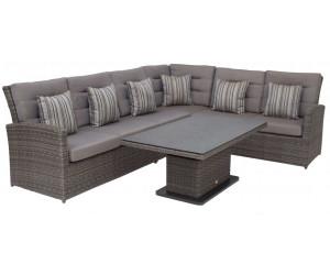 Rattan lounge grau günstig  Gartenmöbel-Set Preisvergleich | Günstig bei idealo kaufen