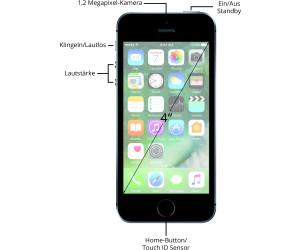 apple iphone se 32gb spacegrau ab 264 95. Black Bedroom Furniture Sets. Home Design Ideas