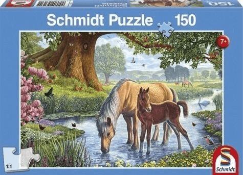 Schmidt-Spiele Pferde am Bach