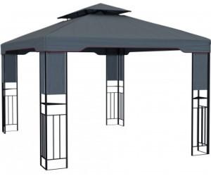 paramondo deluxe gartenpavillon 3x4m anthrazit ab 199 99 preisvergleich bei. Black Bedroom Furniture Sets. Home Design Ideas
