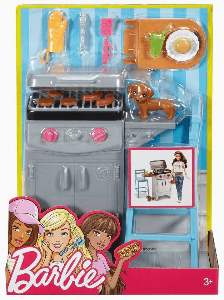 Image of Barbie Barbecue (DVX48)