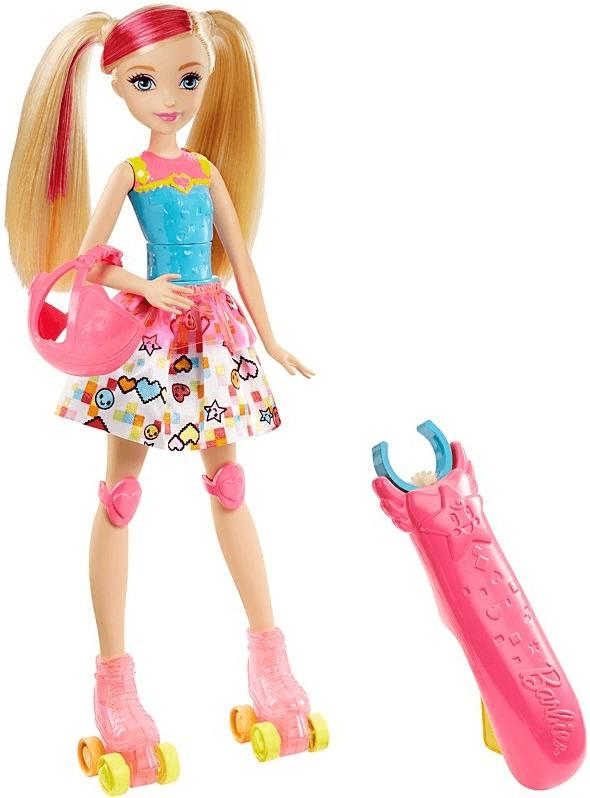 Barbie Die Videospiel-Heldin Rollschuh-Fahrerin (DTW17)