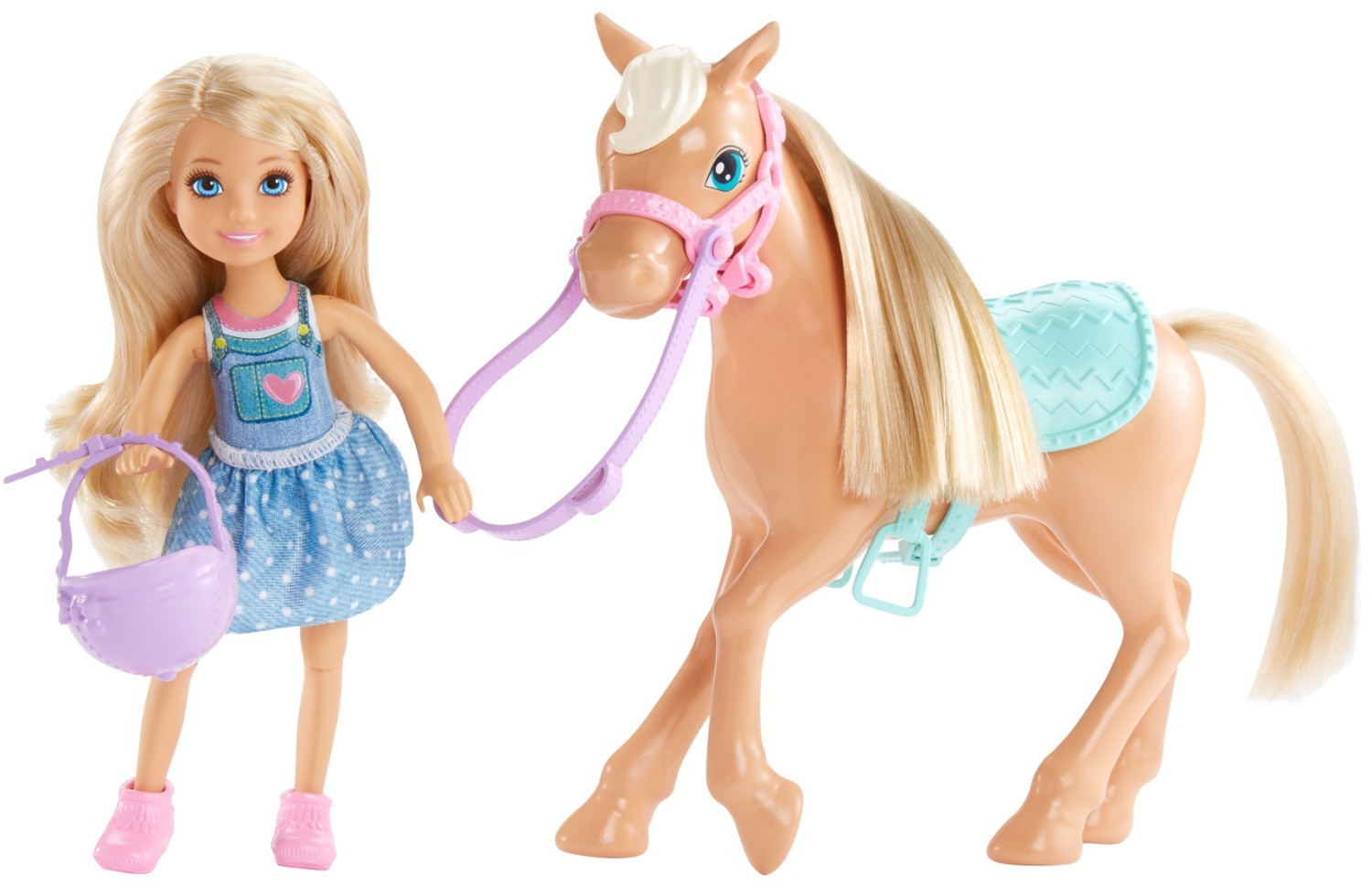 Barbie Club Chelsea - Doll and Pony (DYL42)
