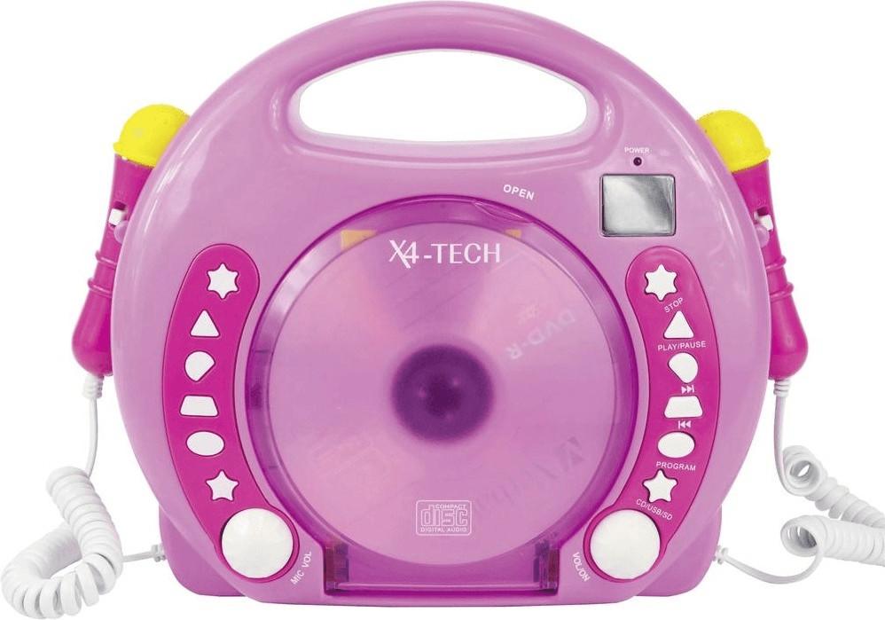Vorschaubild von Vedes Karaoke CD Player rosa