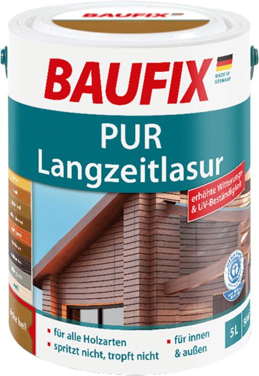 Baufix PUR-Langzeitlasur 5 l teak