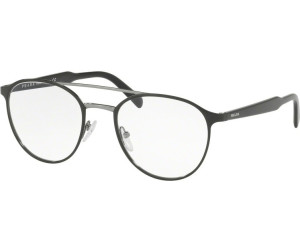 PRADA Prada Herren Brille » PR 60TV«, schwarz, 1AB1O1 - schwarz