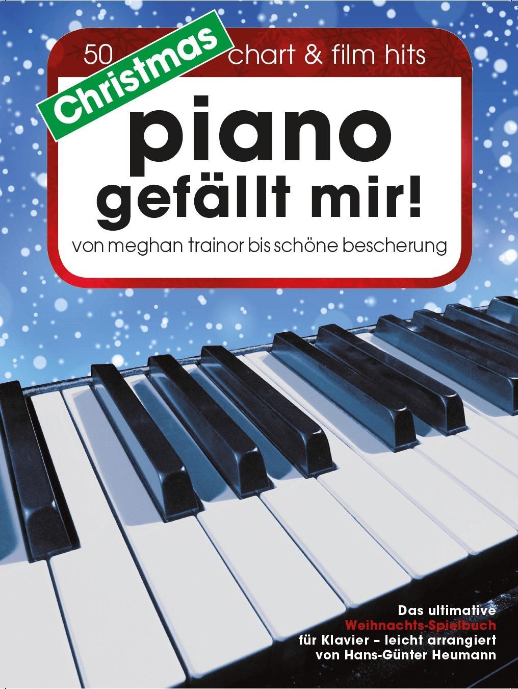 Bosworth Christmas Piano gefällt mir! 50 Chart und Film Hits