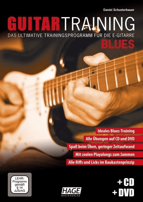 Image of Hage Musikverlag Guitar Training Blues