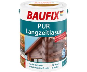 Baufix PUR-Langzeitlasur 5 l nussbaum