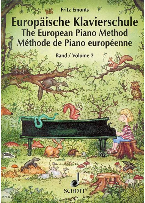 #Schott Music Europäische Klavierschule#