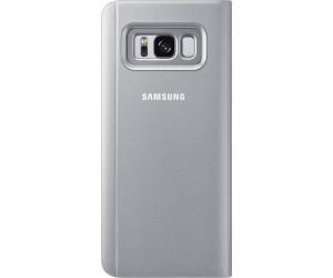 samsung clear view standing cover galaxy s8 silber ab. Black Bedroom Furniture Sets. Home Design Ideas