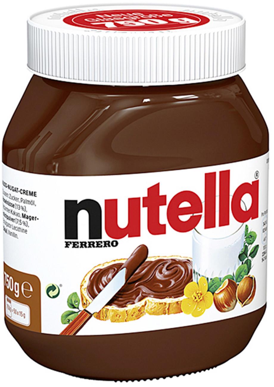 Nutella Nuss-Nougat-Creme 750 gr