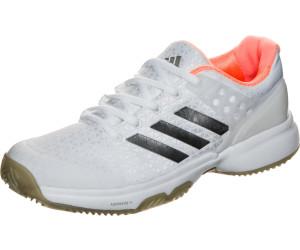 new styles 7e41f 05a84 Adidas adizero Ubersonic 2 Clay Women footwear whitesilver metallicglow  orange
