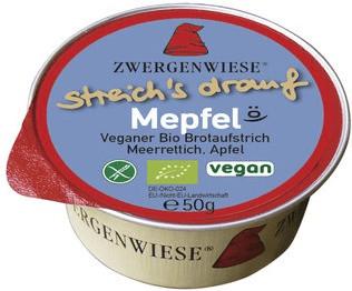 Zwergenwiese streich´s drauf Mepfel (50g)