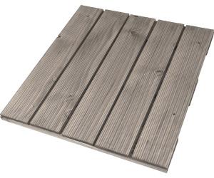 Rettenmeier holz fliese fein geriffelt grau 50 x 50 cm ab 4 79