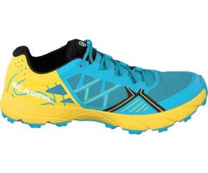 Scarpa Spin Blau-Gelb, Damen Trailrunning- & Laufschuh, Größe EU 38 - Farbe Scuba Blue-Lemon Damen Trailrunning- & Laufschuh, Scuba Blue - Lemon, Größe 38 - Blau-Gelb
