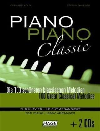 Hage Musikverlag Piano Piano Classic leicht (mit 2 CDs)
