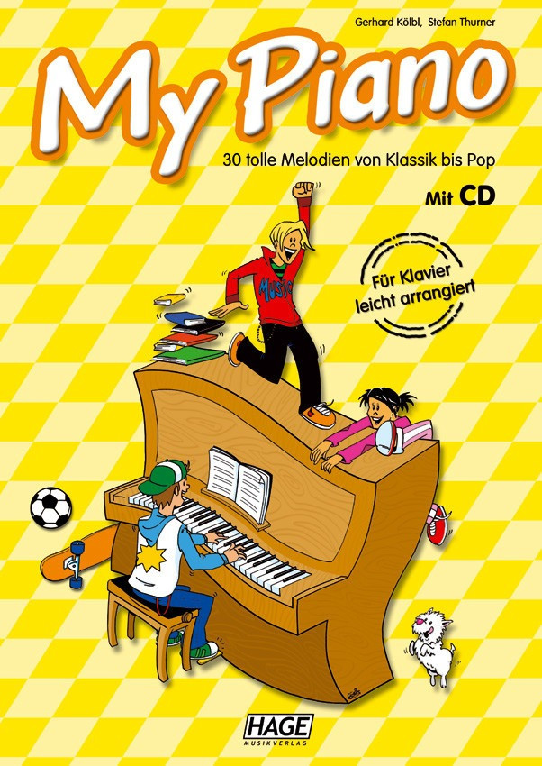 Hage Musikverlag My Piano (mit CD)