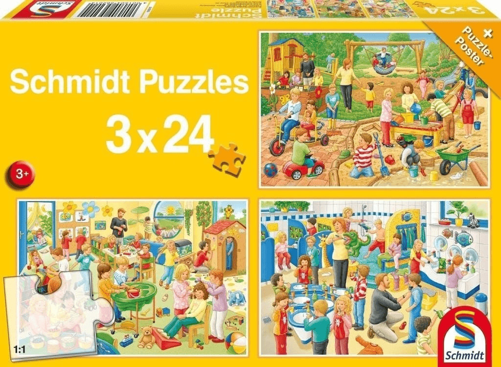 Schmidt-Spiele Ein Tag im Kindergarten